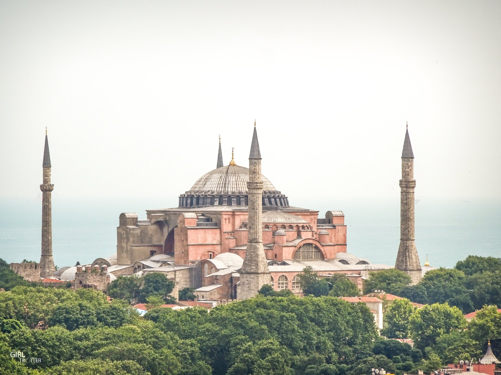 Istanbul - Basilique Sainte Sophie Ayasophya