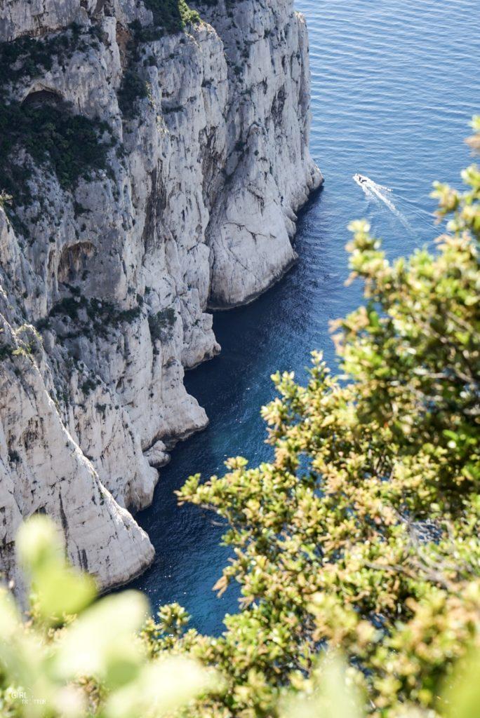 Calanque de l'Oule à Marseille