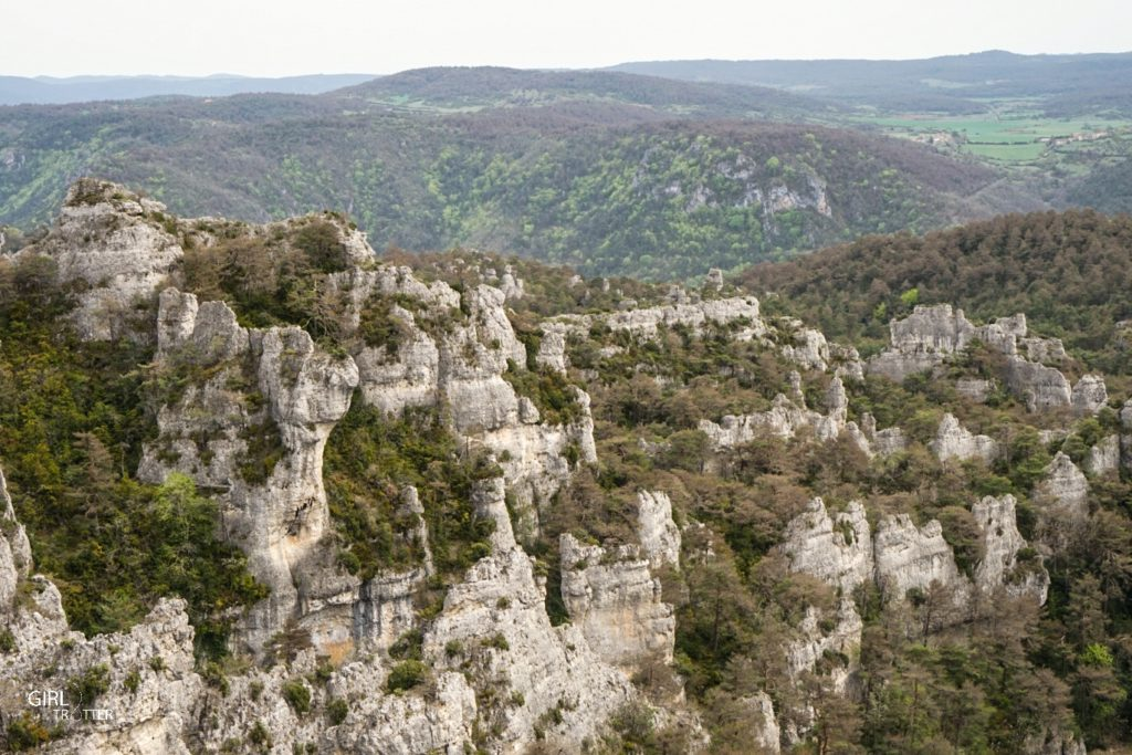 Chaos de Montpellier Le Vieux en Aveyron