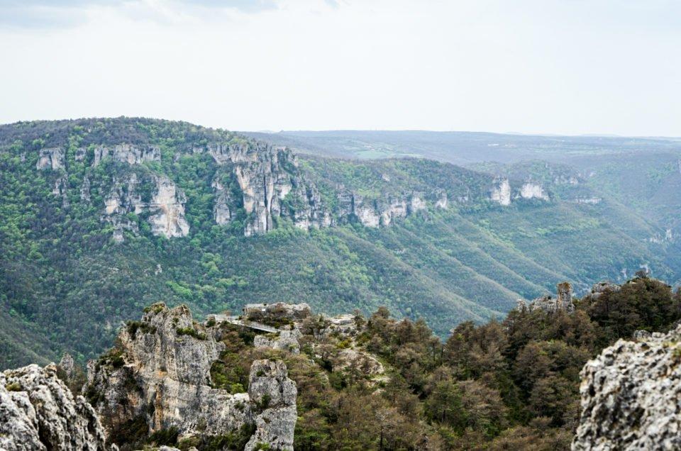 Canyon des gorge du Tarn en Aveyron