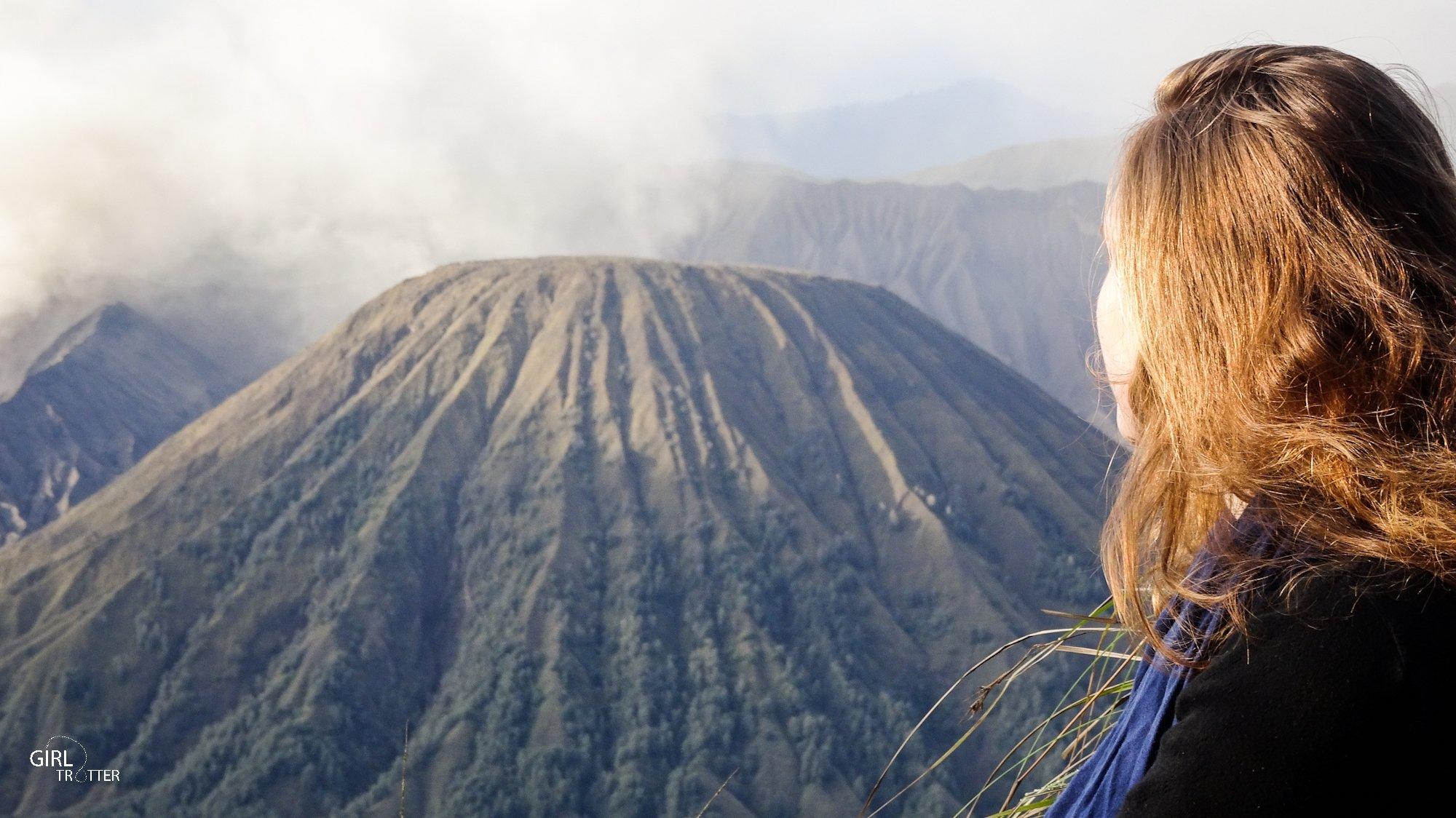 Le Volcan Bromo sur l'île de Java en Indonésie