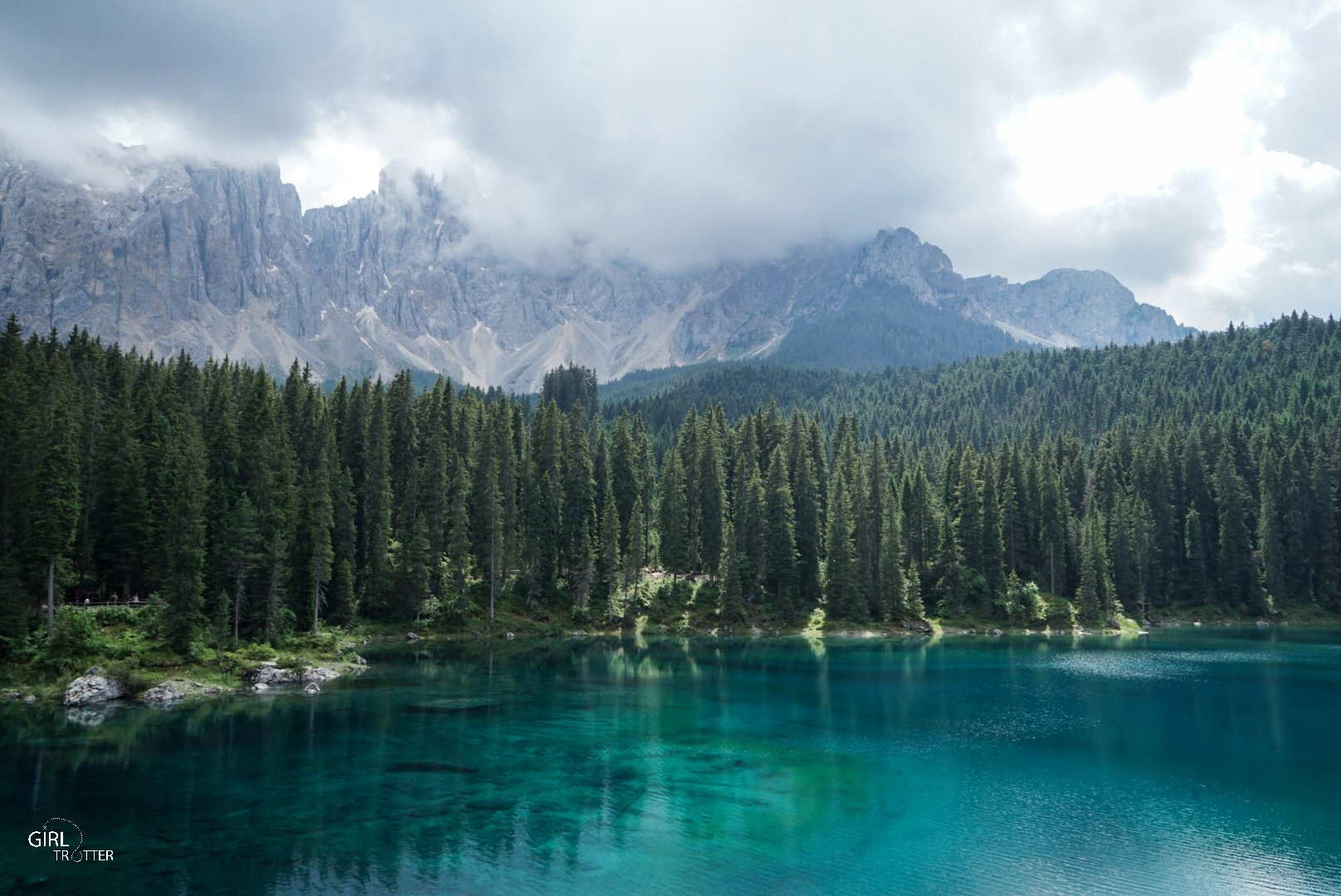 Karersee Dolomites