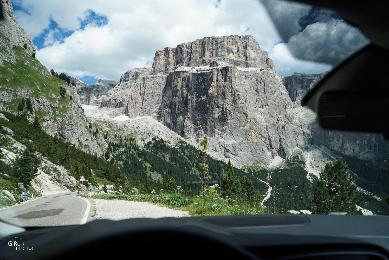 Roadtrip dans les Dolomites - Louer une voiture