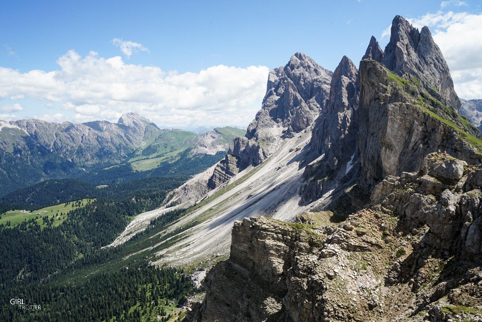 Ortisei Seceda Dolomites