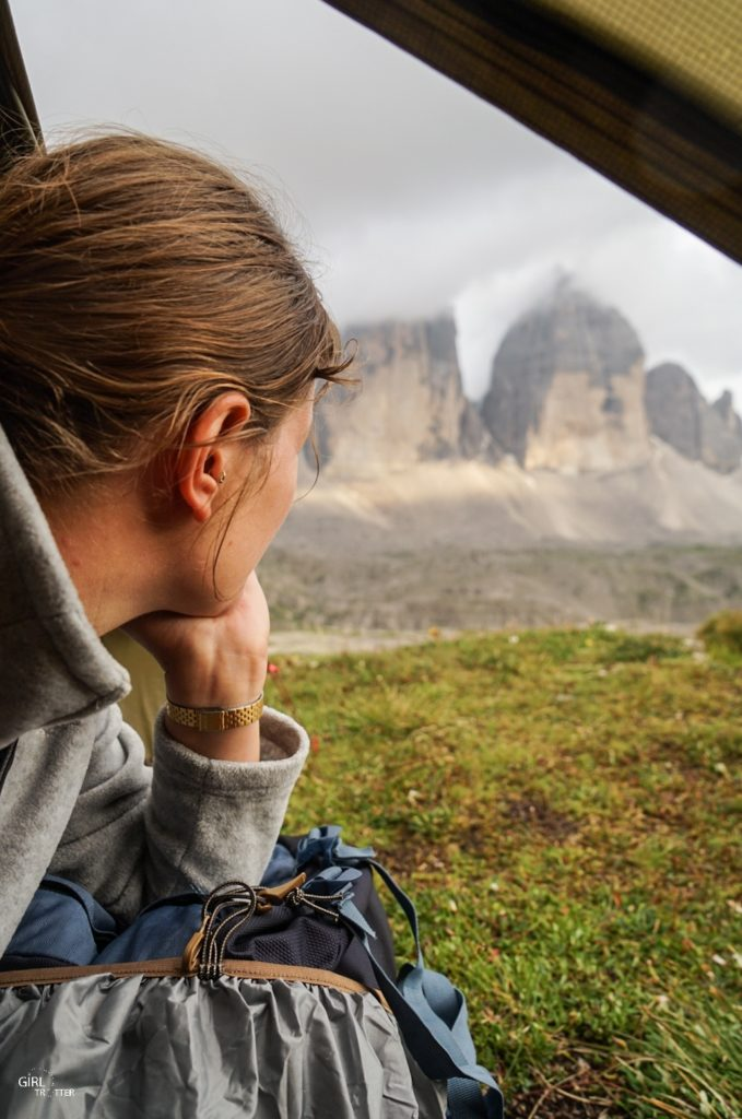 Bivouac et camping au Tre Cime Di Lavaredo dans les Dolomites