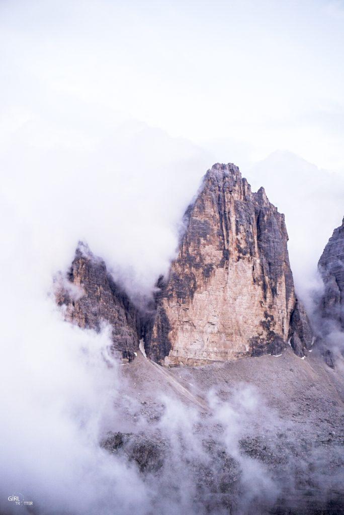 Randonnée dans le massif des Tre Cime Di Lavaredo dans les Dolomites