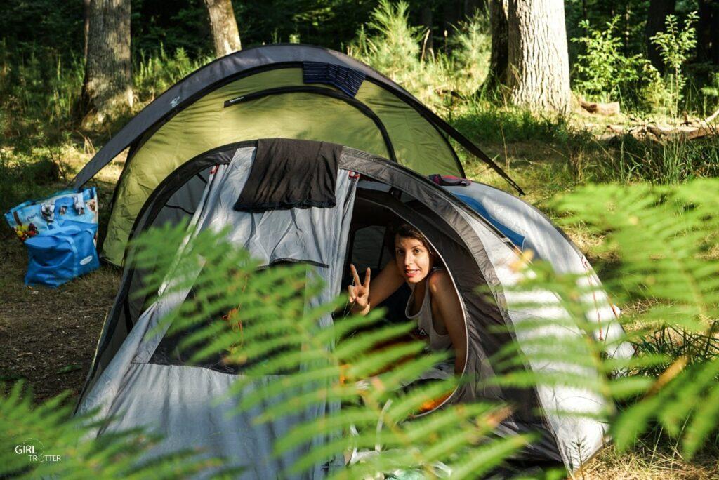 Camping et bivouac en foret de fontainebleau