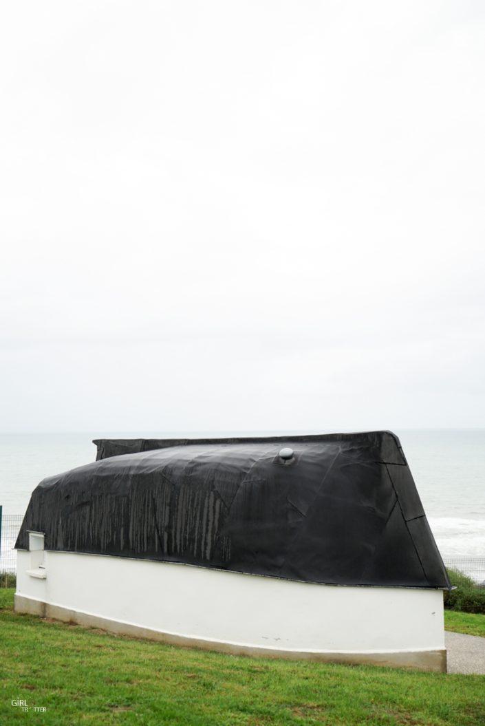 Les Quilles en l'air du Camping La Falaise à Equihen-Plage en Cote d'Opale