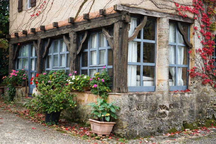 Village de Biron dans le Périgord