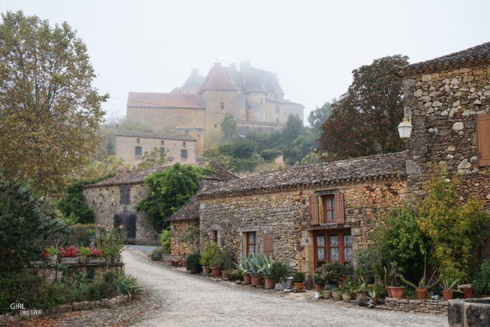 Château de Biron dans le Périgord