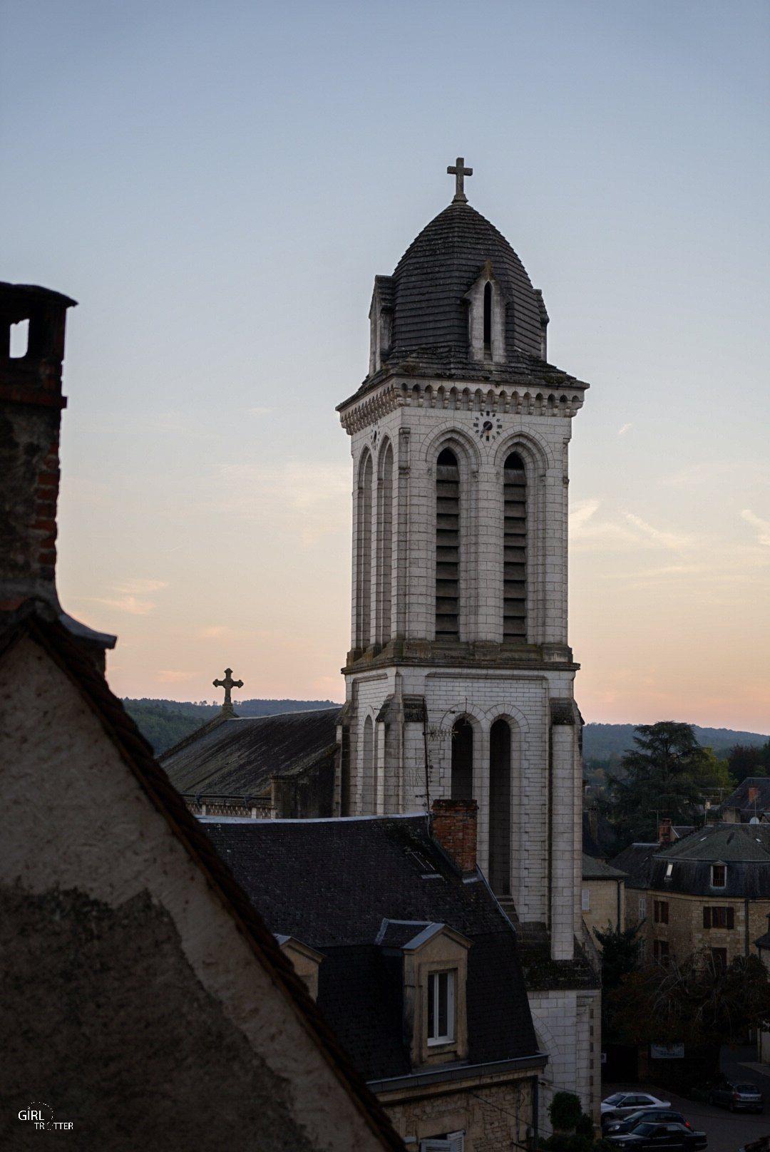 Clocher de Montignac Périgord