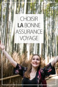 Choisir la bonne assurance de voyage
