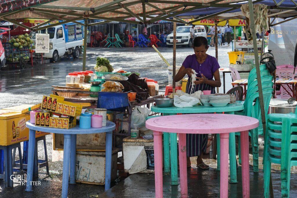food myanmar birmanie