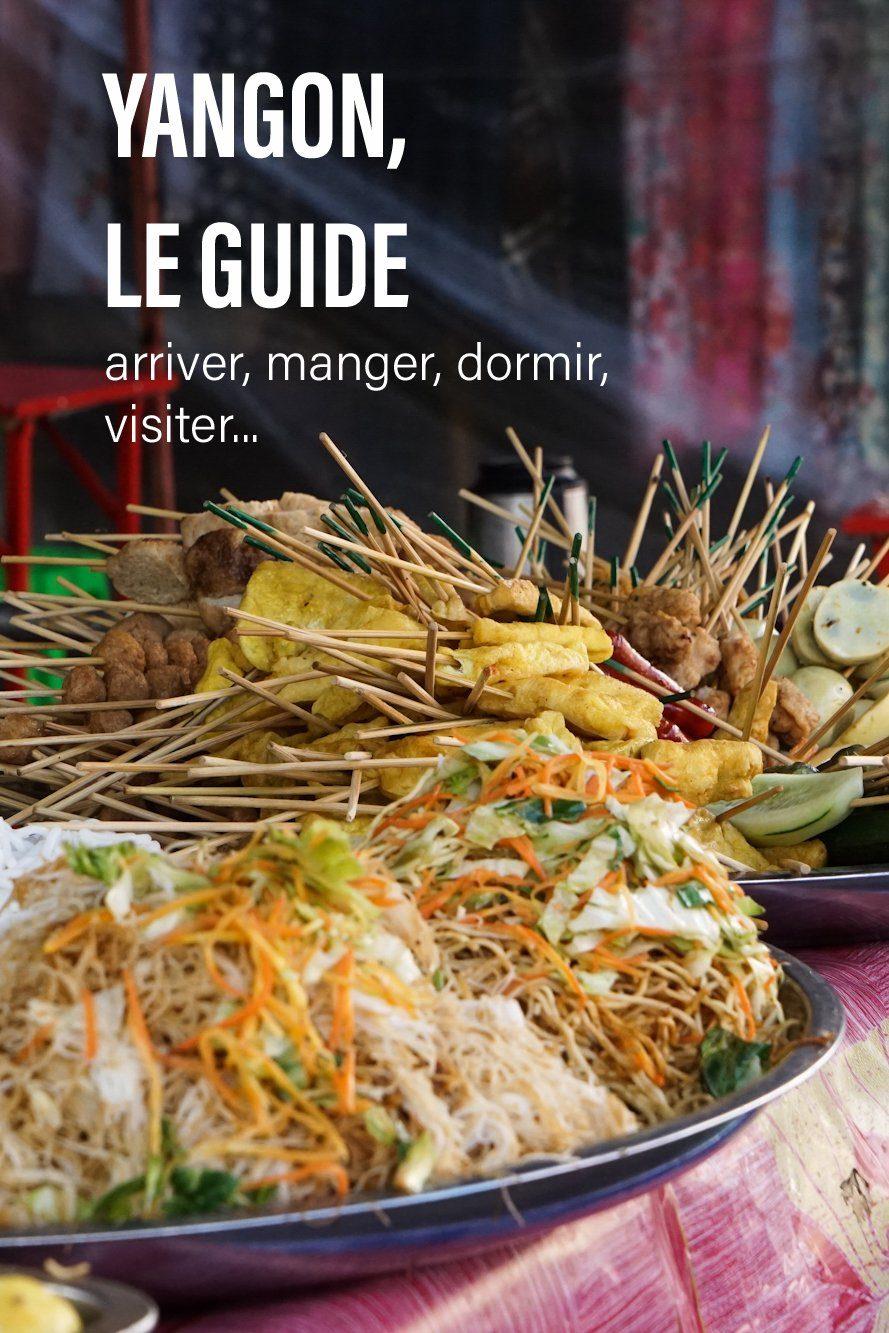 Guide Yangon Pinterest