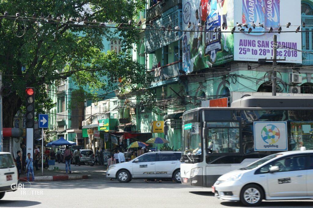 Transport depuis aéroport de Yangon