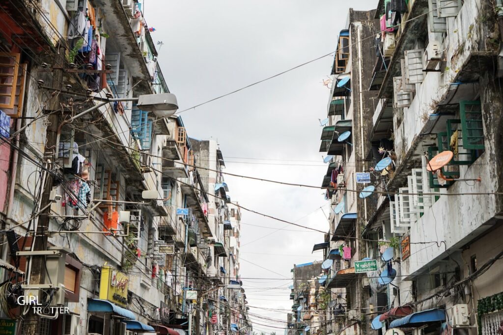 Yangon centre ville - Myanmar
