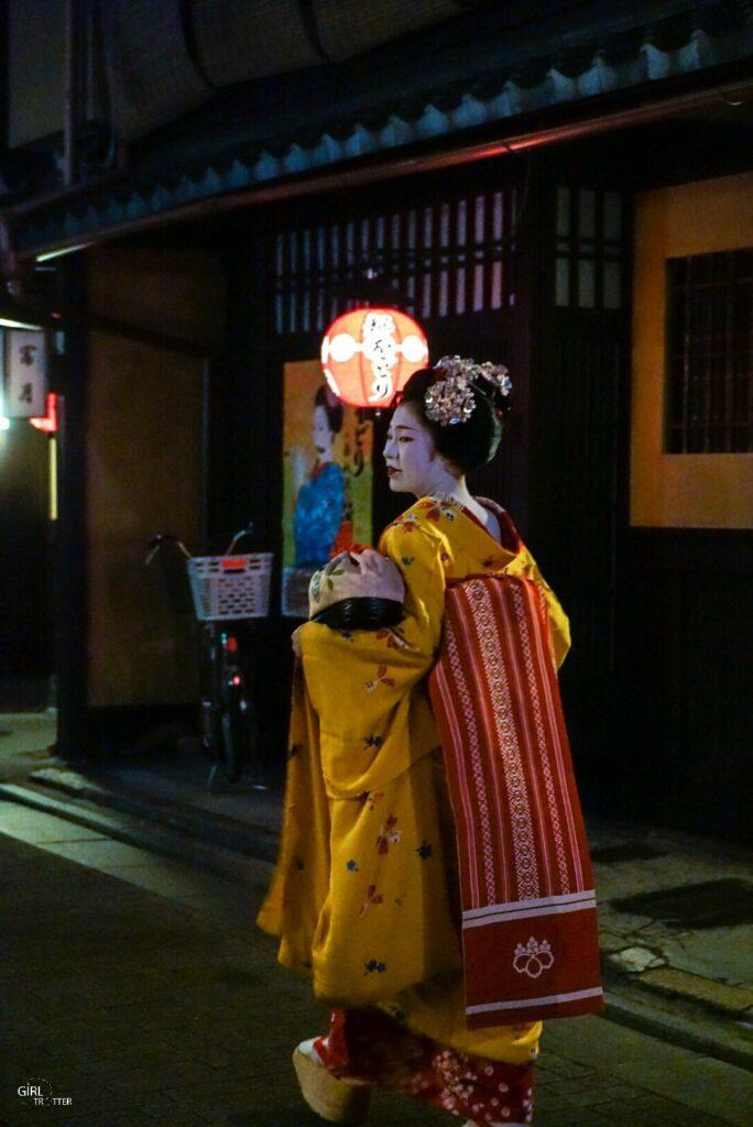 Comment voir une geisha au japon