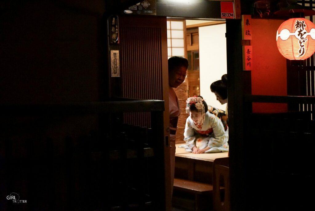Geisha au Japon