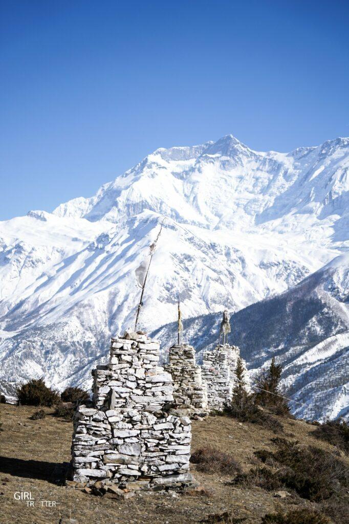 Manang Circuit des Annapurnas Nepal