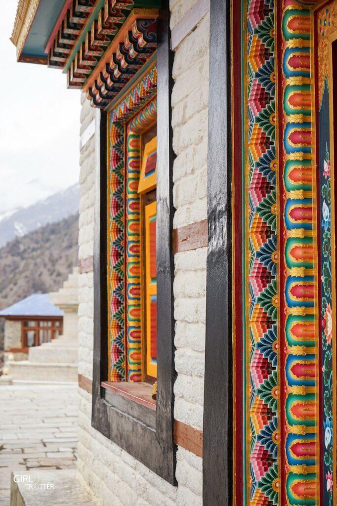 Monastère bouddhiste Upper Pisang Annapurna Népal