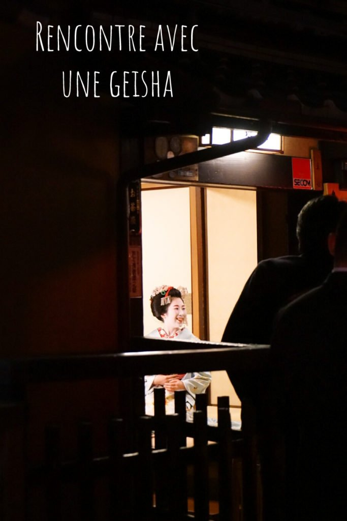 Ou voir des geisha