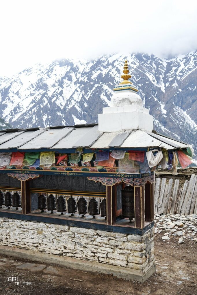 Upper Pisang Annapurna Népal