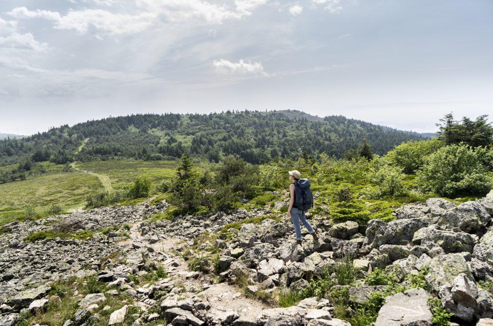 Weekend nature et sportif au coeur du Pilat, dans le sud de la Loire