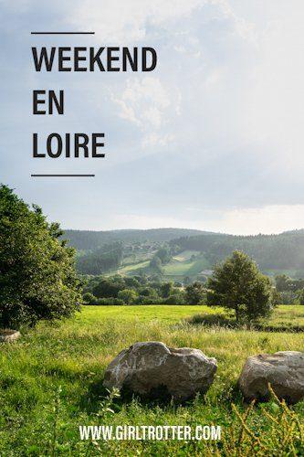 Weekend nature et sportif au coeur de la Loire