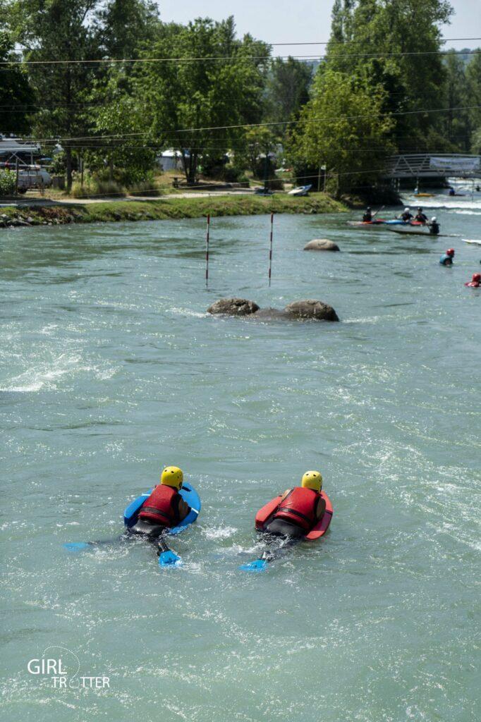 Espace eaux vives Saint-Pierre de Boeuf Hydrospeed - Weekend Loire Parc naturel régional du Pilat