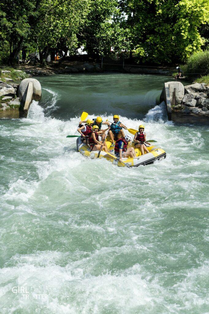 Espace eaux vives Saint-Pierre de Boeuf Rafting - Weekend Loire Parc naturel régional du Pilat