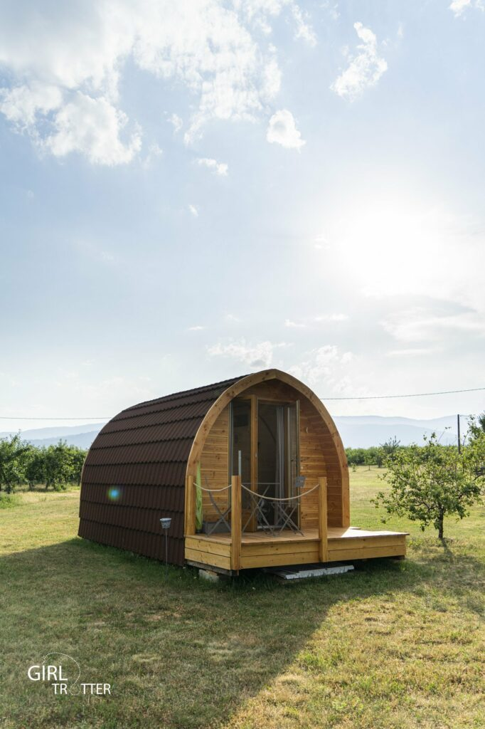 Gite Saint Claude Pod cabane bois - Weekend Loire Parc naturel régional du Pilat