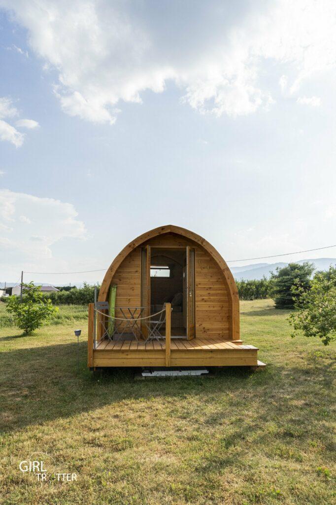 Gite Saint Claude Pod cabane insolite en bois