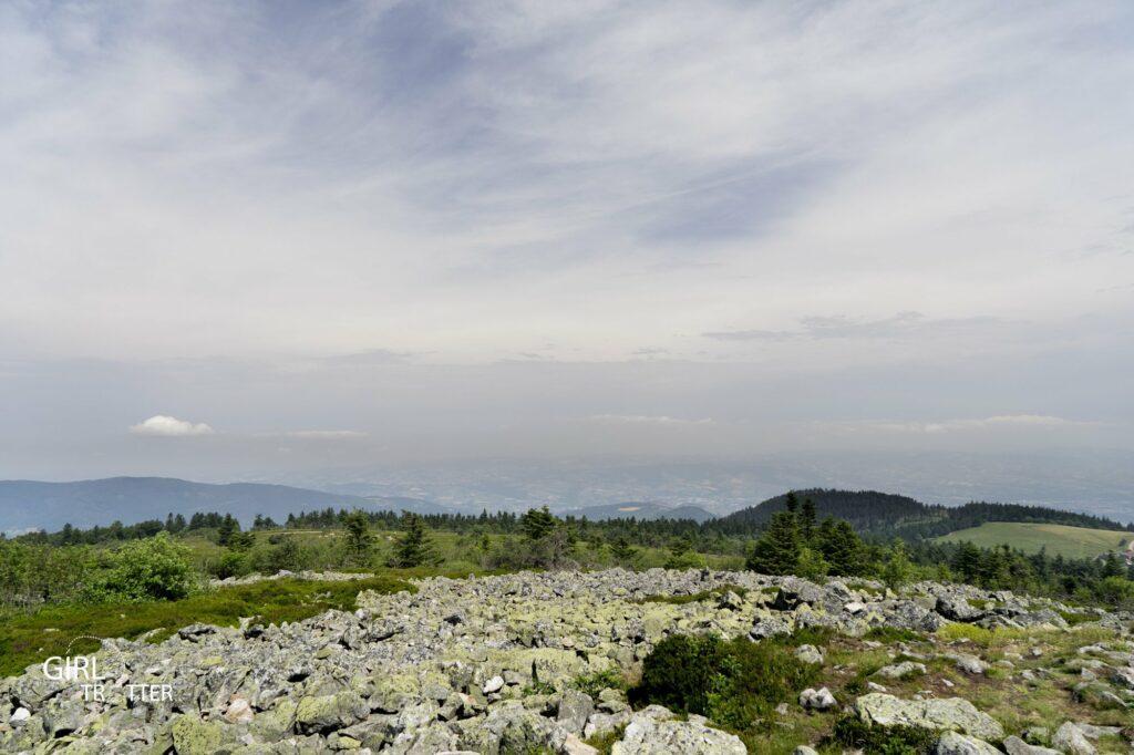 Sentier des Crêts - Crêt de la Perdrix au coeur du Parc naturel régional du Pilat en Loire