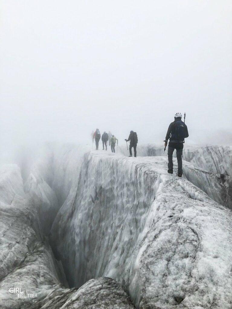 Alpinisme Glacier de Chamonix Savoie