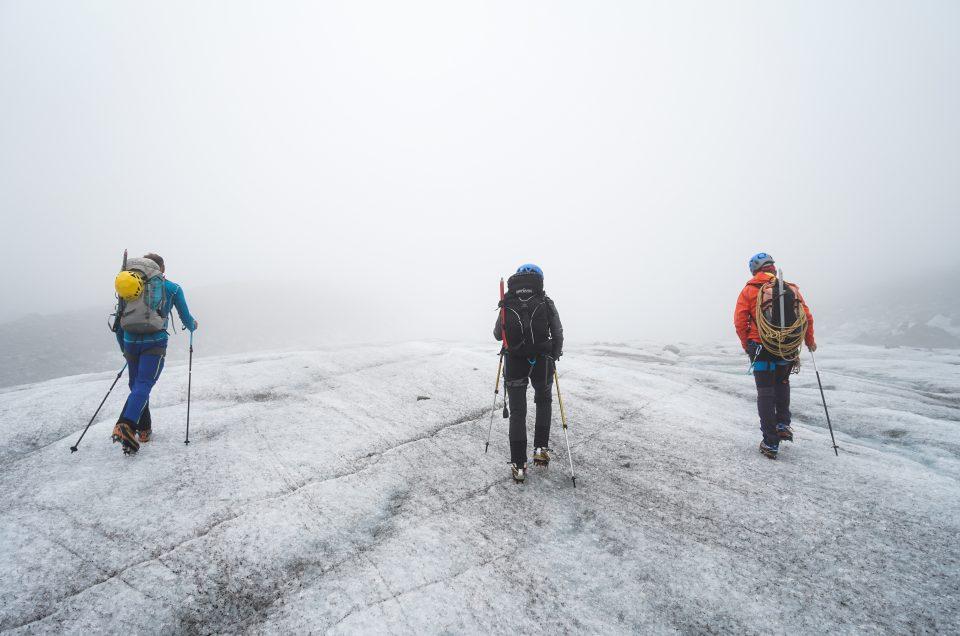 Alpinisme et nettoyage de la mer de glace à Chamonix