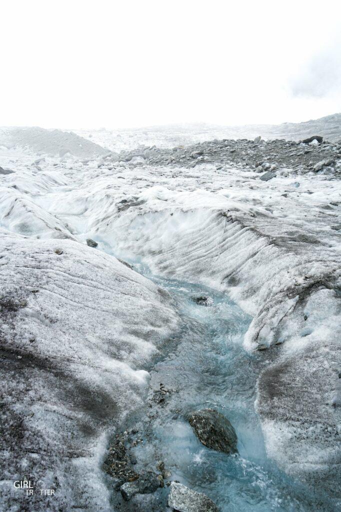 Glacier de Chamonix Savoie