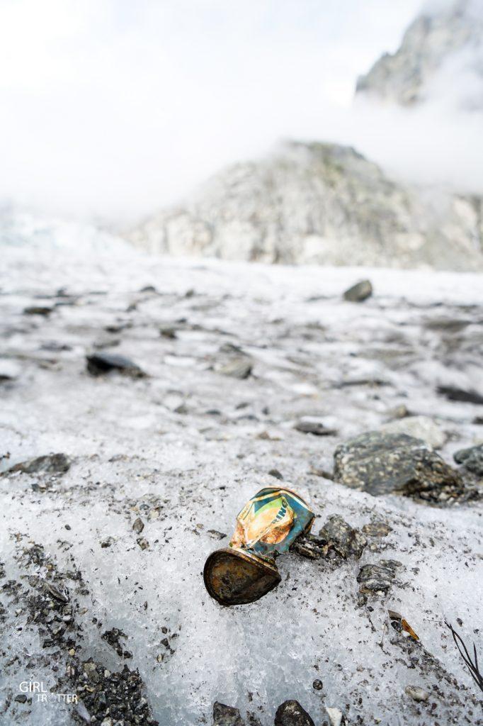 Operation Montagne Responsable Lafuma Mer de Glace Chamonix