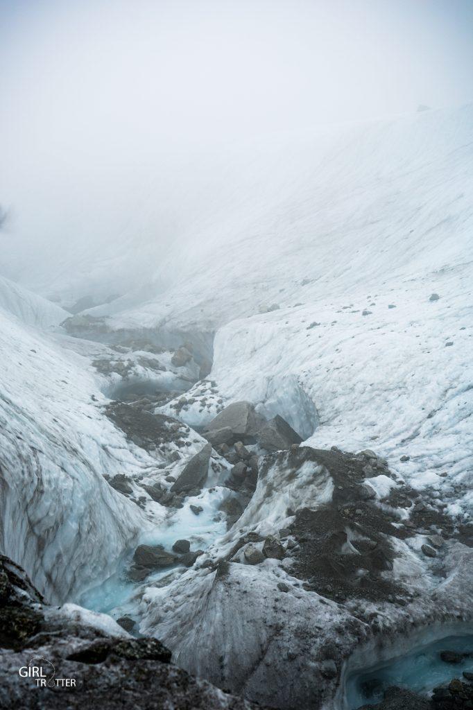 Randonner sur la mer de glace de Chamonix