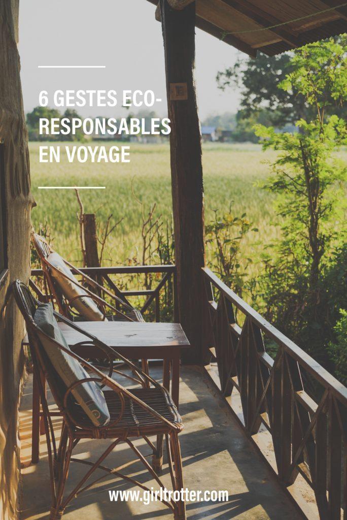 Conseils et astuces pour voyager responsable