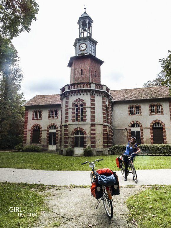 Le Mad Jacques vélo en Picardie - Parc de la poudrerie de Sevran