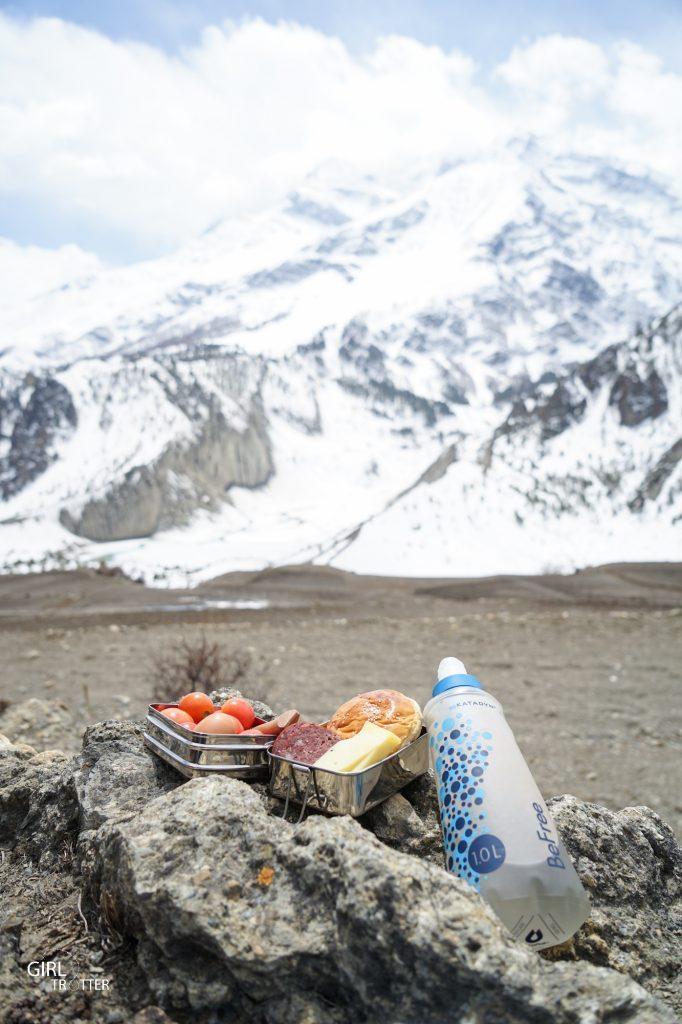 Manger ecologique en voyage - lunchbox et gourde filtrante