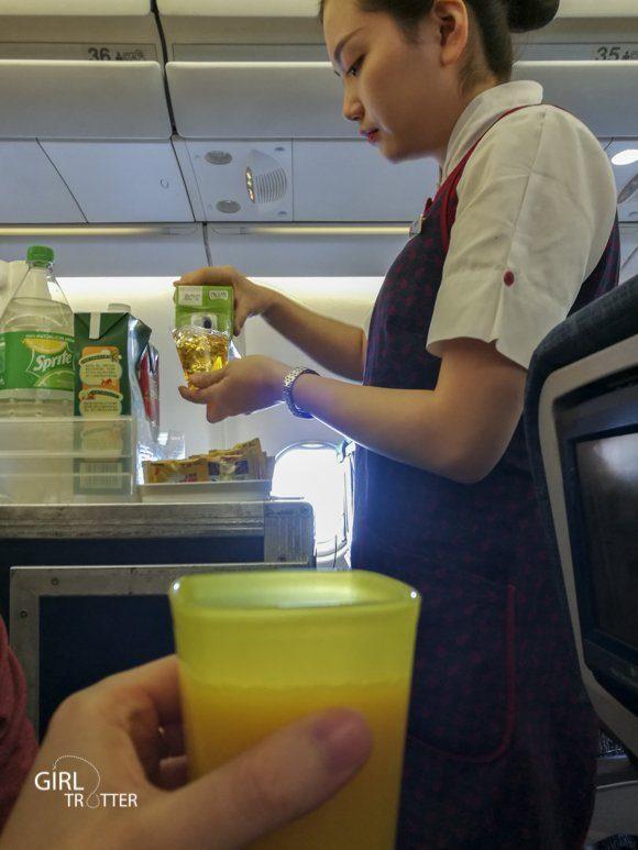 Couverts reutilisables et gourde - Les gestes eco-responsables faciles dans l'avion en voyage