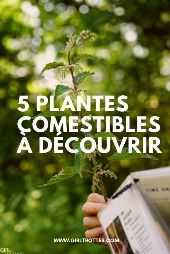 Découvrir les plantes comestibles