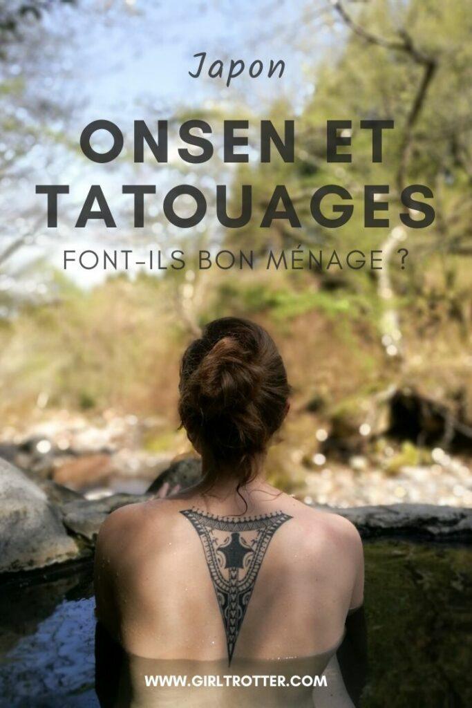 Les tatouages sont-ils autorisés dans les Onsen au Japon ?