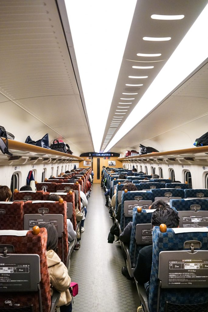 Réserver train Shinkansen Japon
