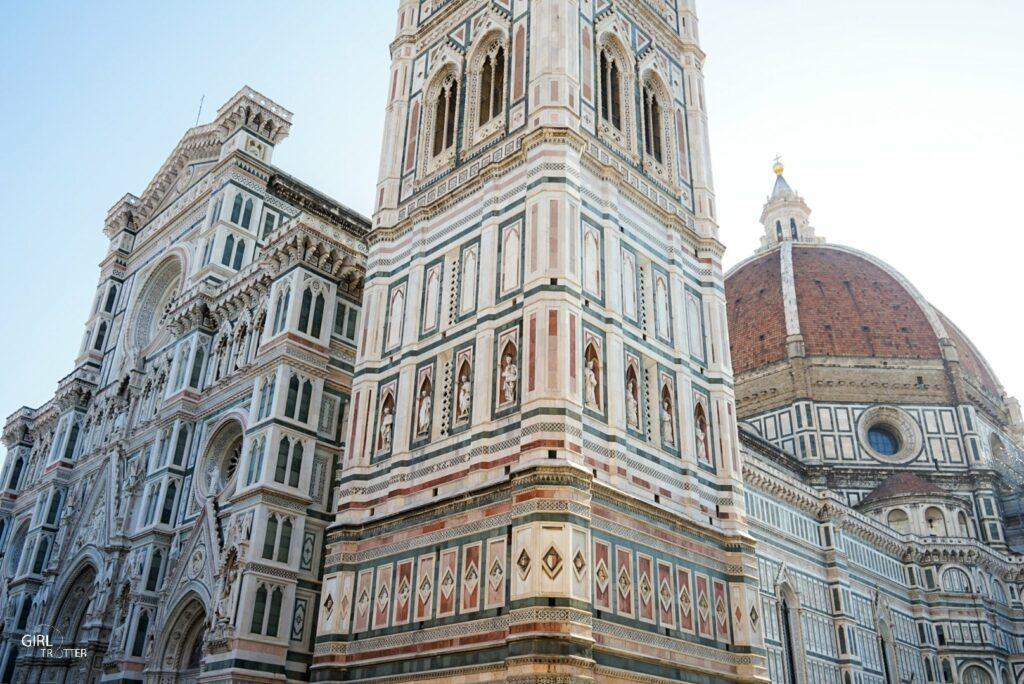 Cathédrale campanile et coupole Florence - Toscane Italie