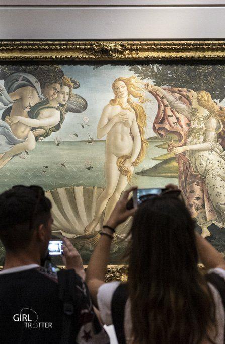 Galerie des offices musée art et peinture Florence