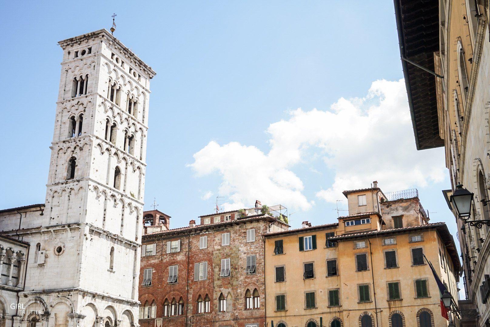 Lucca plazza San Michele in Foro