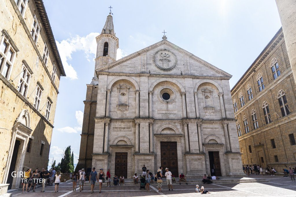 Duomo Pienza Toscane Italie