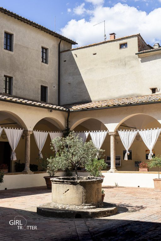 Cloitre Pienza Toscane Italie